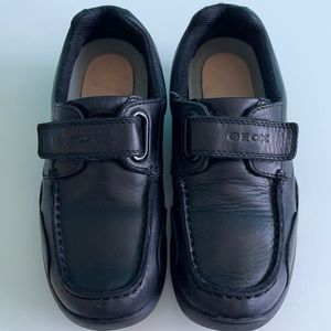 Geox kids leather shoes
